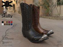 Skully :: Unisex Boots :: 10 Colors :: {kokoia}