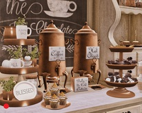 Aphrodite - Fall - Coffee Utensils Pyramid - Deco