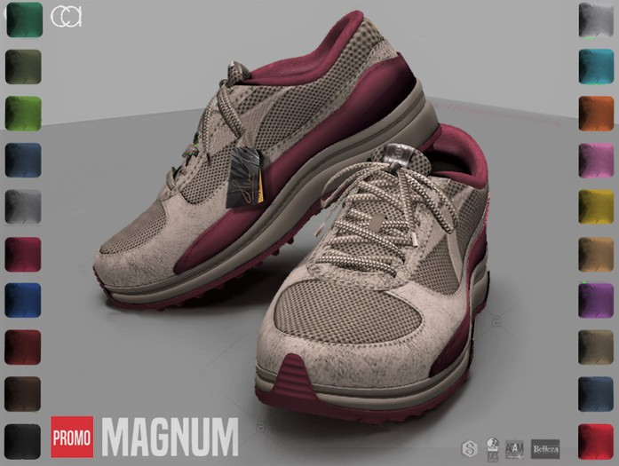 Second Life Marketplace Ca Promo Magnum Sneakers Gents