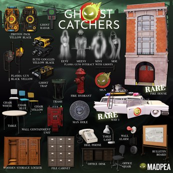 MadPea Ghost Catchers - Ghost Trap