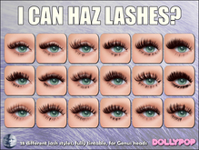 ~Dollypop~ I CAN HAZ LASHES For Genus - 18 Styles
