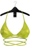 Ec.cloth - Mealanie Latex Top - Lime (add it)