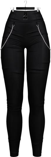 Ec.cloth - Sollera Vinyl Leggings - Black (add it)