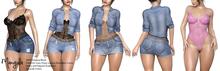 Mangula HUD [Unpack] Ava Set Short, Skirt, Bodysuit, Jacket [FA