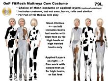 OnP Mesh Maitreya Cow Costume