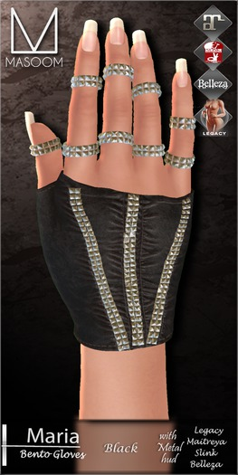 [[ Masoom ]] Maria Bento-Black-Lara, Legacy Body, Slink & Belleza-