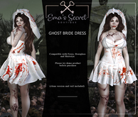 -Ema's Secret- Ghost Bride Dress (add me)