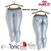 50 Linden Promo ::::MI:::: [Maitreya/Slink/Belleza/Tonic] Malux Jeans Pants in 10 Colors