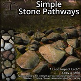 [DDD] Simple Stone Pathways - 1 LI, Texture Change, Low Lag