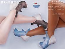 bonbon - shark socks (maitreya & unrigged)
