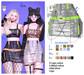 MIWAS / Dae Chain skirt #Silver