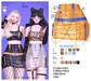 MIWAS / Dae Chain skirt #Orange