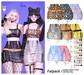 MIWAS / Dae Chain skirt #FATPACK / SAVE 70%