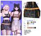 MIWAS / Dae Chain skirt #Black