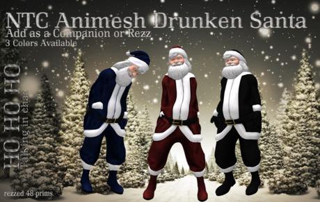 [NTC] Animesh Drunken Santa talking [Red]