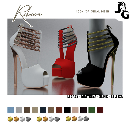 ::SG:: Rebeca Shoes - MAITREYA
