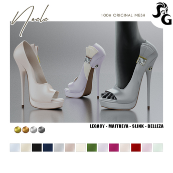 ::SG:: Noele Shoes - LEGACY
