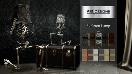 "KiB Designs - Skeleton Lamp ""Wear"""