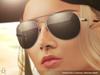 Curved aviator sunglasses 101
