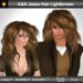A&A Jesse Hair Lightbrown (medium length wild unisex hairstyle)