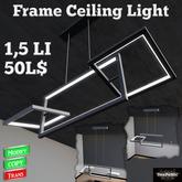 *DenPaMic* Frame Ceiling Light