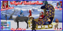 F.G.M.N/Magical Christmas Scene/Animated Santa
