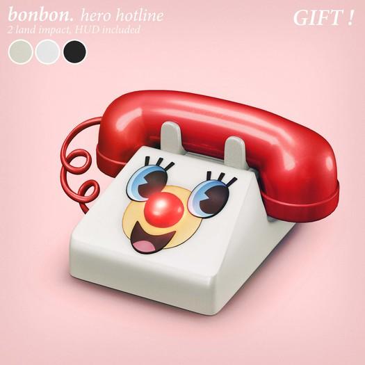 bonbon - hero hotline - GIFT <3