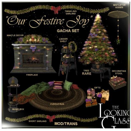 TLG - Our Festive Joy Short Garland Boxed