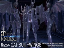 MALified - Maleficent Outfit (Black): Maitreya Only