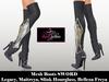 ! PROMO ! Mesh Gothic Medieval Boots SWORD - Legacy, Maitreya, Hourglass, Freya