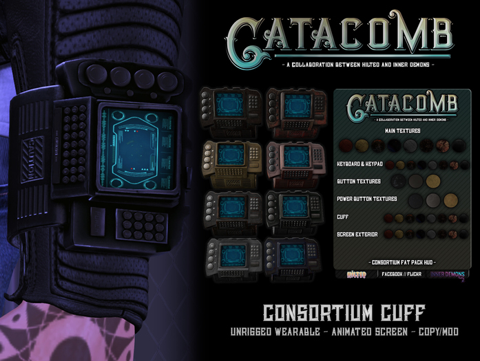 Catacomb - Consortium Cuff - Fat Pack