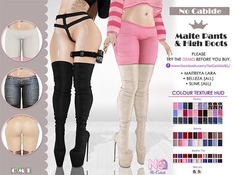 No Cabide :: Maite Pants & High Boots [HUD] (wear)