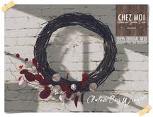 Chaleur Bois Wreath ♥ CHEZ MOI