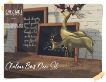 Golden Deer Set ♥ CHEZ MOI