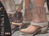 Cuddle Up - Milla Cowgirl Boots (Mini Pack 1)