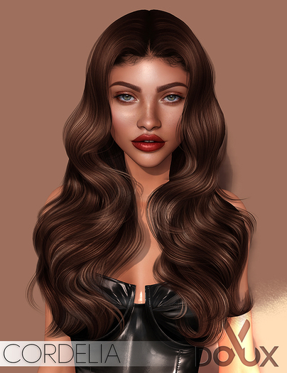 DOUX - Cordelia hairstyle [BLOGGER PACK]