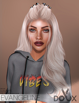 DOUX - Evangeline hairstyle [BLOGGER PACK]