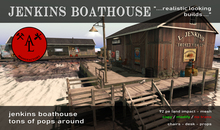 AL Jenkins Boathouse - Summer SALE - 20 %