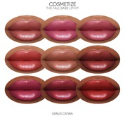 Cosmetize / The Fall Babe Lip Kit / Genus Catwa HD