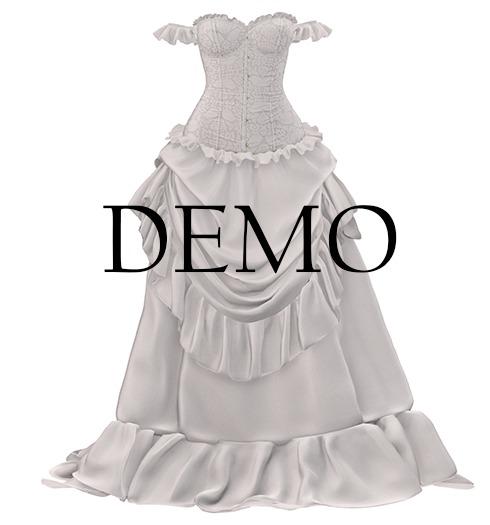 *Just BECAUSE* Sabrina Dress - DEMO - Maitreya, Belleza, Slink, Legacy