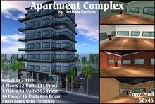 Apartment Complex, Condos By Artisan Prefabs