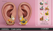 :ANDORE: - :earring: - Cute Lama