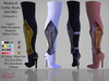 Medieval Gothic Boots SWORD ( Fatpack )