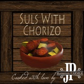 25x Suls with chorizo [G&S]