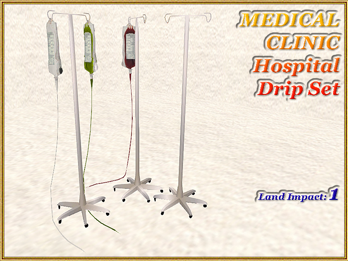 MEDICAL CLINIC Hospital Drip Set