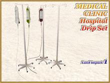 MEDICAL CLINIC Hospital Drip Set ( Full perm )