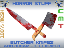 BLOODY BUTCHER KNIFES