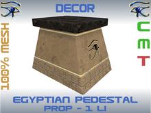 DECOR - EGYPTIAN PEDESTAL