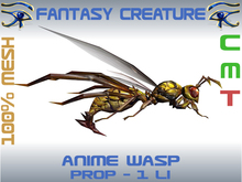 FANTASY CREATURE - ANIME WASP