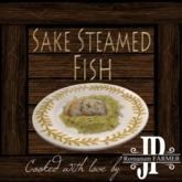 25x Sake steamed fish [G&S]